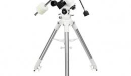 Montierung des Teleskops
