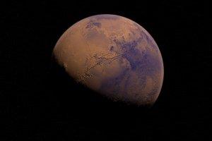 Planet Mars (künstlerische Darstellung)