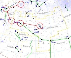 Herbsttour am Himmel: Abwechslungsreiche Beobachtung mit Galaxien, Doppelsternen und offenen Sternhaufen