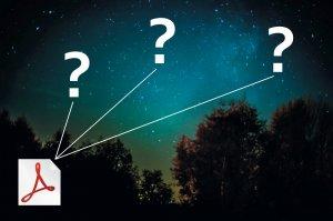 Sternkarten bis 7,25 mag Helligkeit im pdf-Format
