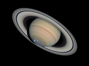 Spektakuläres Beobachtungsobjekt: Planet Saturn mit seinem Ringsystem