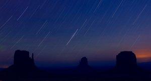 Sternenspuren am Himmel fotografieren